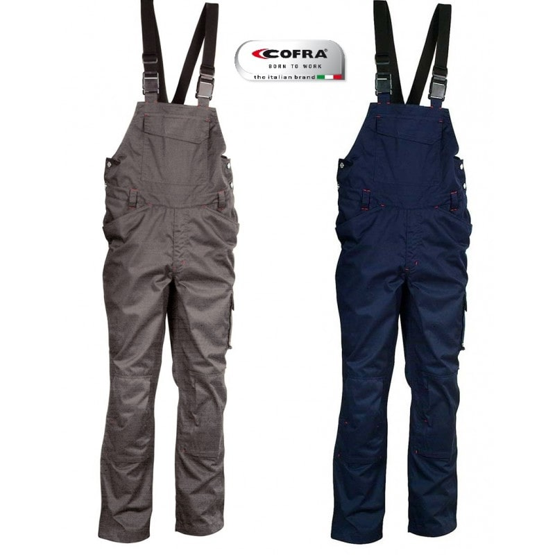 Cofra MOMBASA Overalls with braces Navy Size L